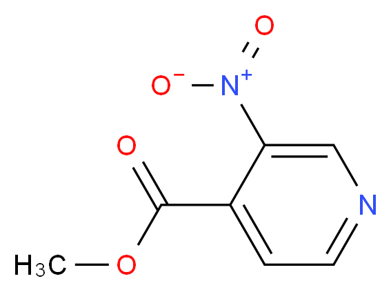 Methyl 3-nitroisonicotinate_分子结构_CAS_103698-10-8)