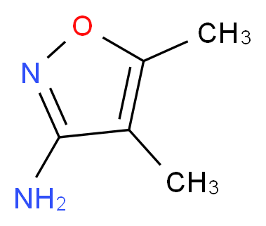 dimethyl-1,2-oxazol-3-amine_分子结构_CAS_13999-39-8