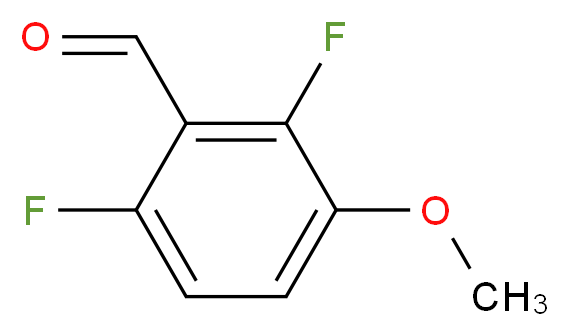 2,6-difluoro-3-methoxybenzaldehyde_分子结构_CAS_149949-30-4