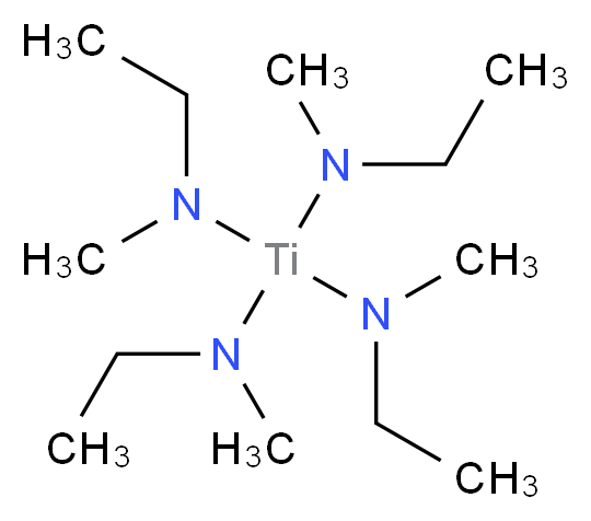 ethyl(methyl){tris[ethyl(methyl)amino]titanio}amine_分子结构_CAS_308103-54-0