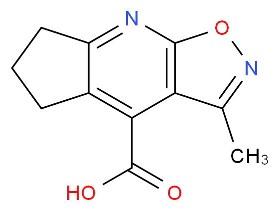 6-methyl-4-oxa-2,5-diazatricyclo[7.3.0.0<sup>3</sup>,<sup>7</sup>]dodeca-1(9),2,5,7-tetraene-8-carboxylic acid_分子结构_CAS_937657-94-8