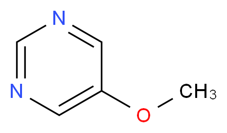 5-methoxypyrimidine_分子结构_CAS_31458-33-0