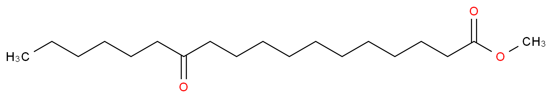 methyl 12-oxooctadecanoate_分子结构_CAS_2380-27-0