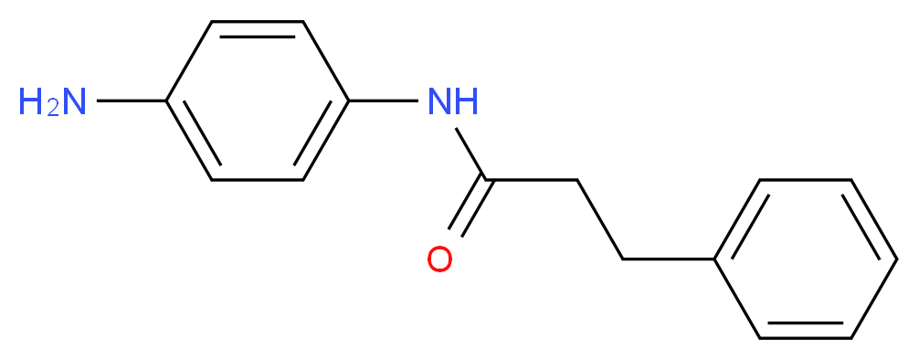 N-(4-Aminophenyl)-3-phenylpropanamide_分子结构_CAS_)