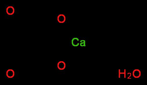 草酸钙 一水合物_分子结构_cas_5794-28-5)