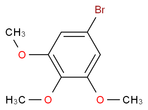 5-bromo-1,2,3-trimethoxybenzene_分子结构_CAS_2675-79-8