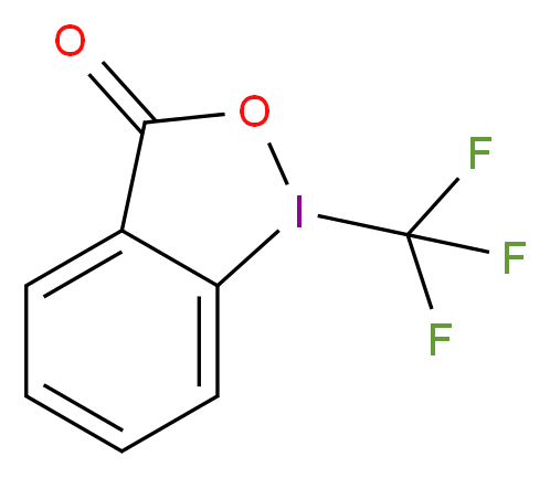 1-(trifluoromethyl)-3H-1λ<sup>3</sup>,2-benziodaoxol-3-one_分子结构_CAS_887144-94-7