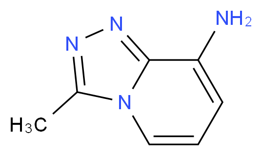 3-methyl-[1,2,4]triazolo[4,3-a]pyridin-8-amine_分子结构_CAS_31040-12-7