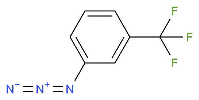 1-azido-3-(trifluoromethyl)benzene_分子结构_CAS_22001-17-8