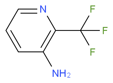 2-TRIFLUOROMETHYL-3-AMINOPYRIDINE_分子结构_CAS_106877-32-1)
