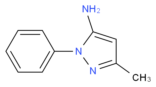 3-methyl-1-phenyl-1H-pyrazol-5-amine_分子结构_CAS_1131-18-6)