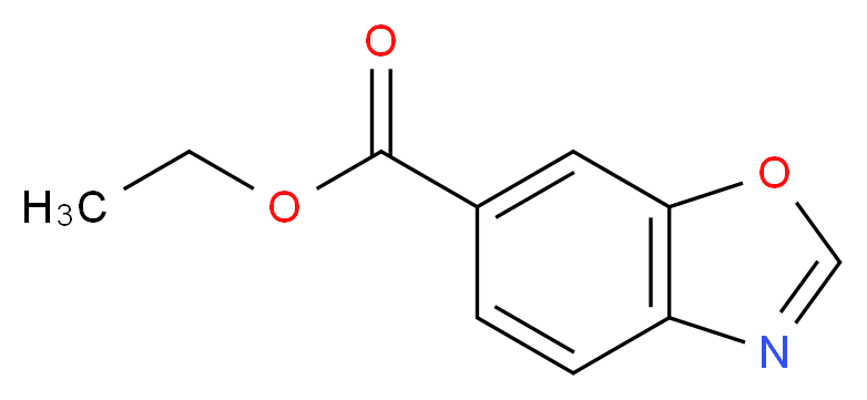 ethyl 1,3-benzoxazole-6-carboxylate_分子结构_CAS_1355171-03-7