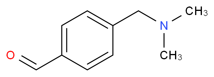 4-Dimethylaminomethyl-benzaldehyde_分子结构_CAS_36874-95-0)