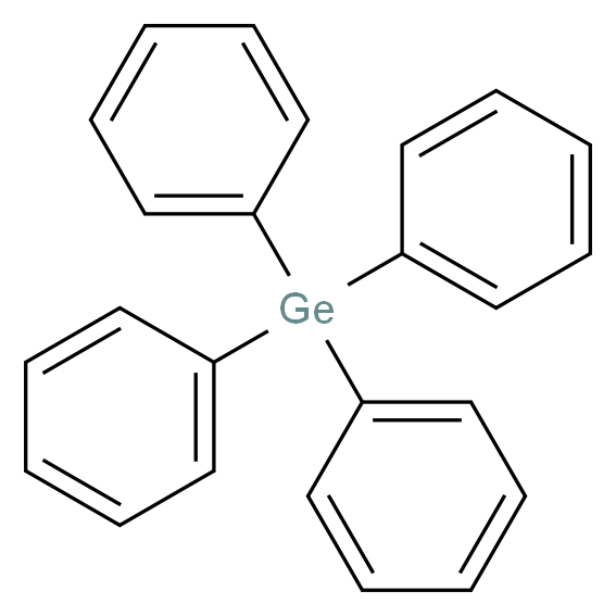 GERMANIUM TETRAPHENYL_分子结构_CAS_1048-05-1)