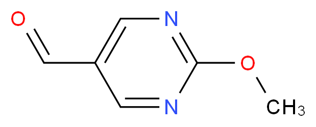 2-methoxypyrimidine-5-carbaldehyde_分子结构_CAS_90905-32-1