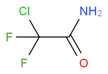 2-chloro-2,2-difluoroacetamide_分子结构_CAS_354-28-9