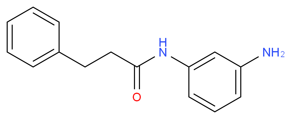 N-(3-Aminophenyl)-3-phenylpropanamide_分子结构_CAS_)