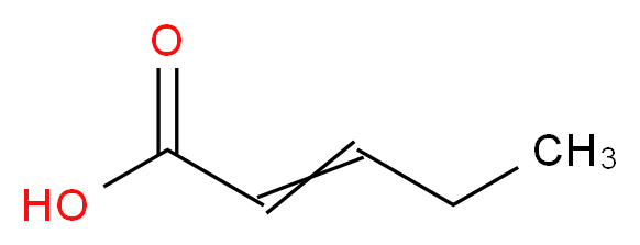 β-ETHYL ACRYLIC ACID_分子结构_CAS_13991-37-2)