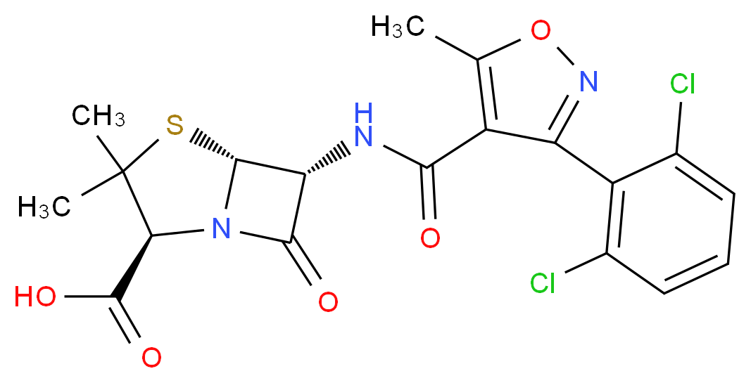 3116-76-5 分子结构