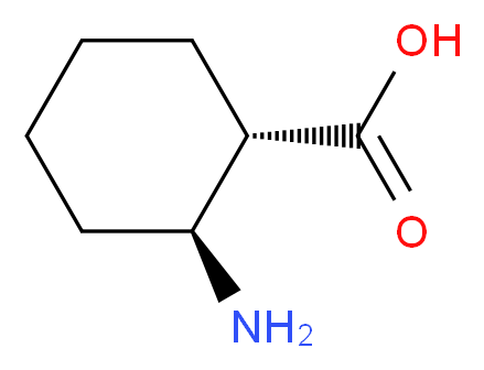 (1S,2S)-2-aminocyclohexane-1-carboxylic acid_分子结构_CAS_24716-93-6