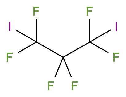 1,1,2,2,3,3-hexafluoro-1,3-diiodopropane_分子结构_CAS_422-91-3