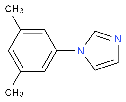 1-(3,5-dimethylphenyl)-1H-imidazole_分子结构_CAS_223762-69-4