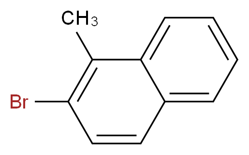 2-bromo-1-methylnaphthalene_分子结构_CAS_20601-22-3