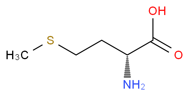 (2R)-2-amino-4-(methylsulfanyl)butanoic acid_分子结构_CAS_348-67-4