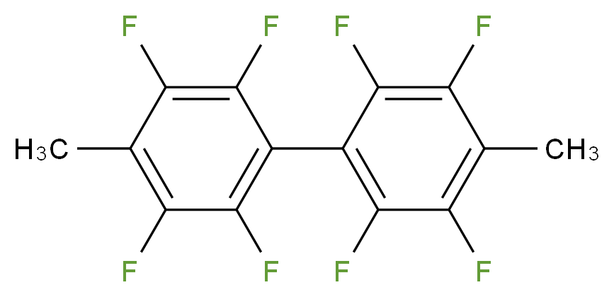 4,4'-DIMETHYL OCTAFLUORO BIPHENYL_分子结构_CAS_26475-18-3)