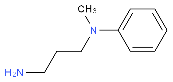 N-(3-aminopropyl)-N-methylaniline_分子结构_CAS_2491-18-1
