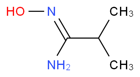 N'-Hydroxy-2-methylpropanimidamide_分子结构_CAS_35613-84-4)