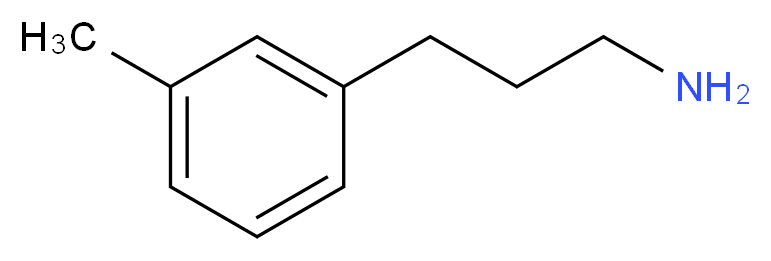 3-(3-methylphenyl)-1-propanamine_分子结构_CAS_104774-85-8)