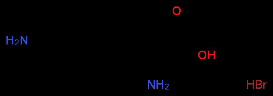 多聚-d-赖氨酸 氢溴酸盐_分子结构_cas_27964-99-4)
