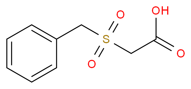 2-phenylmethanesulfonylacetic acid_分子结构_CAS_28203-59-0