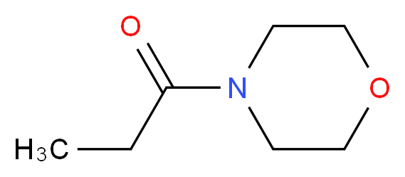 1-(morpholin-4-yl)propan-1-one_分子结构_CAS_30668-14-5