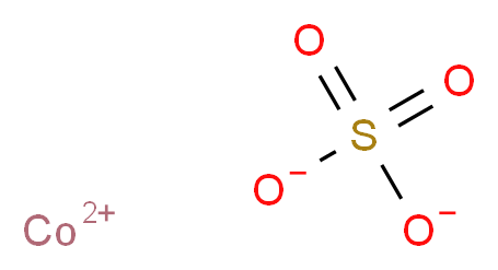 COBALTOUS SULFATE ANHYDROUS_分子结构_CAS_10124-43-3)