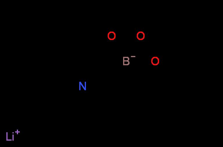 Lithium (2-pyridinyl)triisopropoxyborate_分子结构_CAS_213764-22-8)