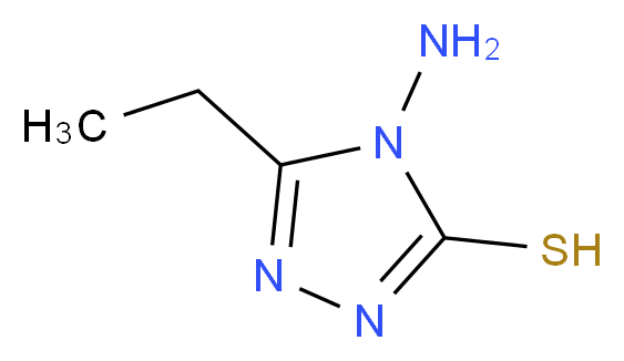 4-Amino-5-ethyl-4H-[1,2,4]triazole-3-thiol_分子结构_CAS_20939-16-6)