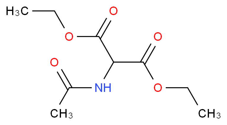 diethyl 2-acetamidomalonate_分子结构_CAS_1068-90-2)