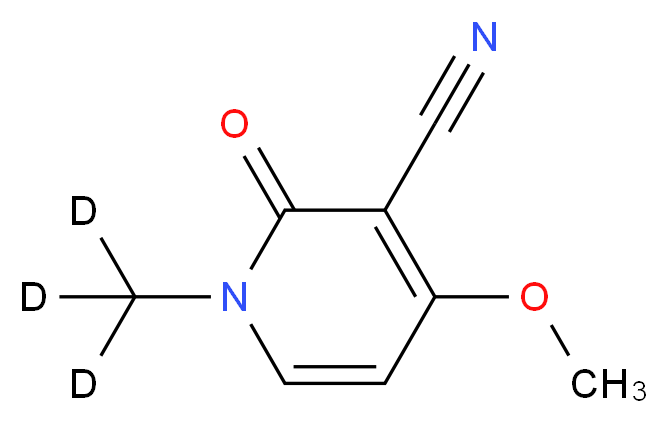 Ricinine-(methyl-d3)_分子结构_CAS_)