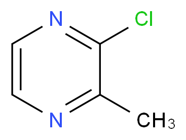 2-Methyl-3-chloropyrazine_分子结构_CAS_95-58-9)