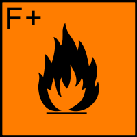 高度易燃性(Highly flammable)